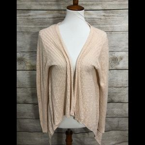 Sundance linen cotton cardigan medium